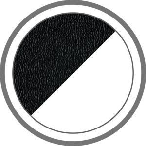 Fekete-fehér masszázsfotel